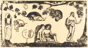 Women, Animals, Foliage by Paul Gauguin, courtesy of the National Gallery of Art